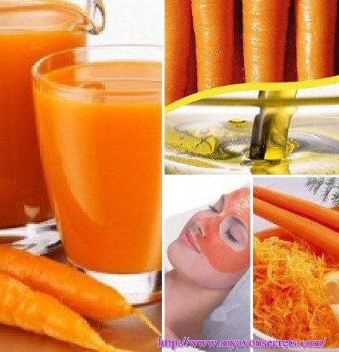 Маски для лица на основе моркови в домашних условиях