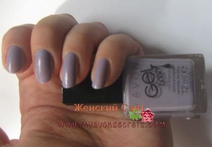 Лак для ногтей гель эффект эйвон отзывы нежно розовый